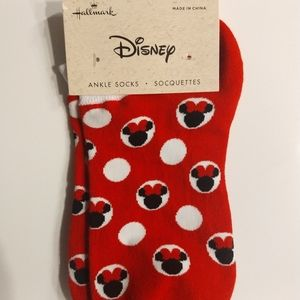 Minnie Mouse ankle socks
